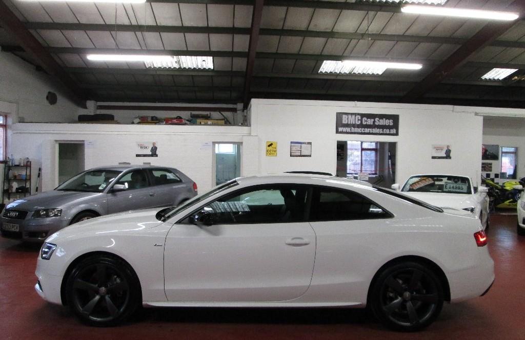 Buysellanycar Co Uk Audi A5 2 0td Black Edition